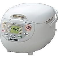 Zojirushi NS-ZCC18 10-Cup Neuro Fuzzy Rice Cooker (Premium White)
