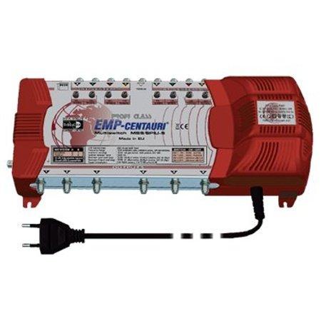 EMP MS9/6-PIU-5 - Commutatore DiSEqC 9/6 con alimentatore di rete
