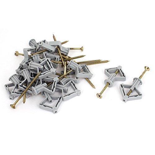 paneles-de-yeso-pared-curtains-avion-expansion-tubo-rosca-anchors-20-piezas