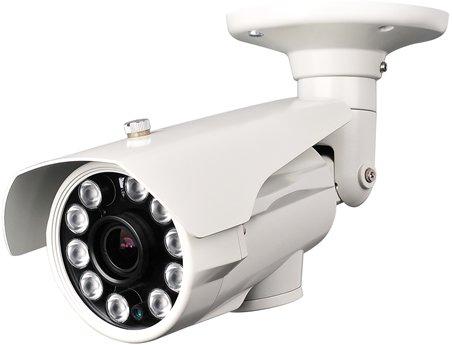 "Hq-Cam Bullet Day Night Video Outdoor/Indoor Weatherproof Security Camera 700Tvl High Resolution 1/3"" Pixel Plus 960H Dsp Built-In 2.8-12Mm Vari-Focal Lens 10 Matrix Infared Leds For Cctv Home Surveillance Dvr System"