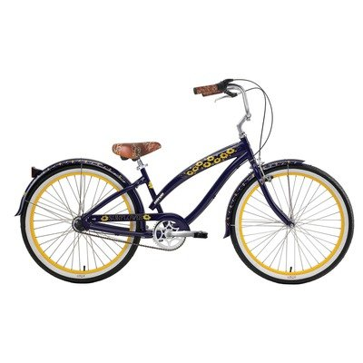 Nirve B 1 Cruiser 1 speed Men's Tempest Bicycle (Black)