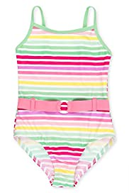 Candy Striped Swimsuit