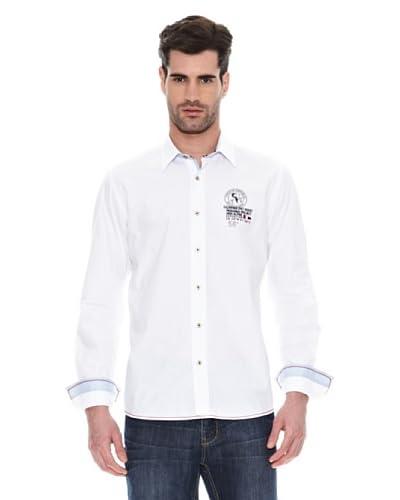 Signore Dei Mare Camicia Uomo [Bianco]