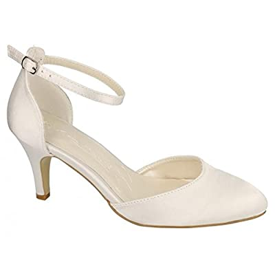 Anne Michelle Womens/Ladies Bridal Wedding Court Shoes