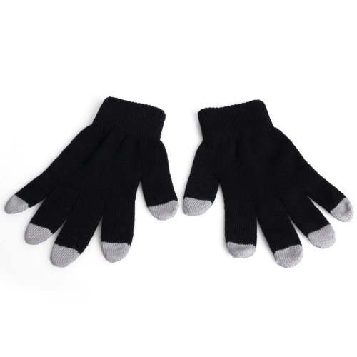 Yousave Accessories Acer Liquid E3 Capacitive Touch Screen Gloves - Black / Grey