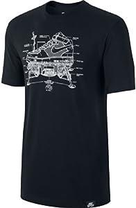 Nike AF1 Lunar Landing T-shirt pour homme XL Blanc - Blanc
