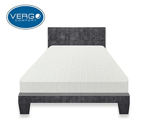 Vergo Comfort 12 Inch Premium Visco Elastic Memory Foam Mattress Twin Holiday Deals The