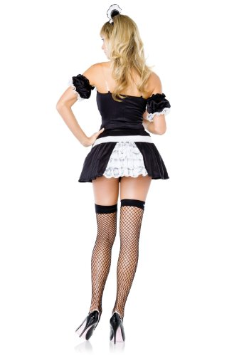 Frisky Fifi - Womens French Maid Sexy Costumes Uniform Lingerie Outfits