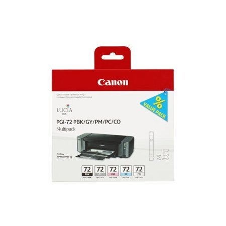 Canon 6403B007 peut PGI72/GY/PBK/PC/PM CO MULTI-PK