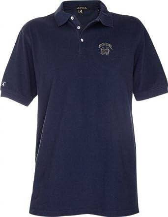 Notre dame nd logo classic pique polo shirt for Notre dame golf shirts