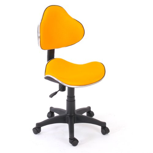 ismshidero chaise de bureau genua ii ergonomique tissu jaune. Black Bedroom Furniture Sets. Home Design Ideas