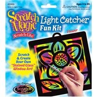 Buy Scratch Art Scratch Magic Scratch Light Flower Light Catcher Fun Kit