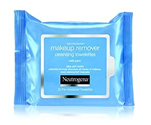 Neutrogena Makeup Remover Cleansing Towelettes, Refill Pack, 25-Count - 1 Pack