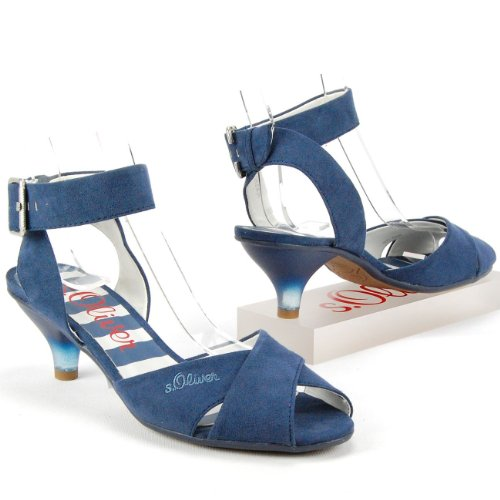 s.OLIVER Damen Fesselriemchen-Sandalette,