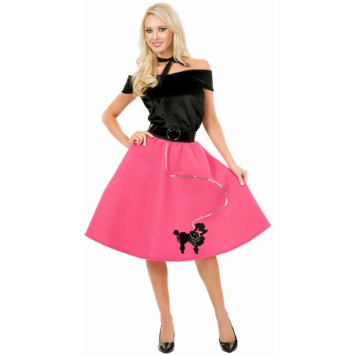 Poodle Skirt Costume - Small - Dress Size 5-7