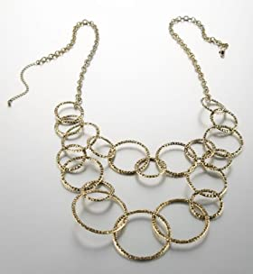 Limited Collection Link Hoop Necklace