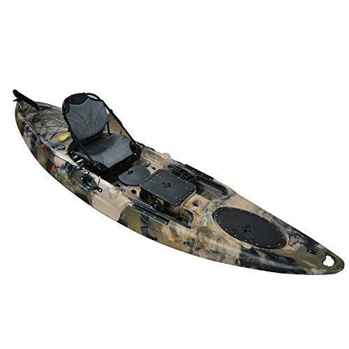 Brooklyn Kayak Company BKC UH-RA220 Riptide Angler Sit On Top Fishing Kayak