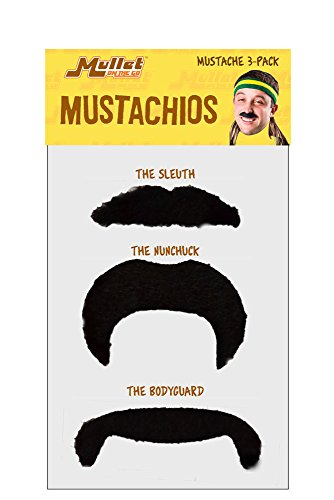Mustachio Pack Black