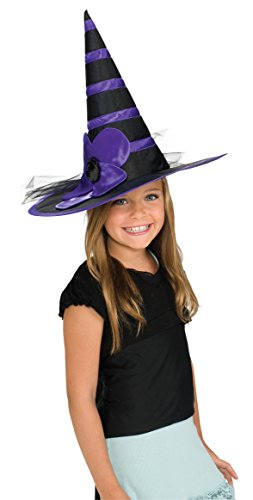 Rubie's Costume Child's Purple Daisy Witch Hat