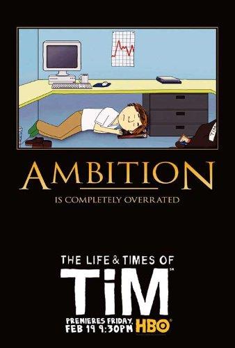 The Life & Times of Tim Movie Poster (11 x 17 Inches - 28cm x 44cm) (2008) Style B -(Steve Dildarian)(M.J. Otto)(Nick Kroll)(Matt Johnson)(Peter Giles)(Julianne Grossman)