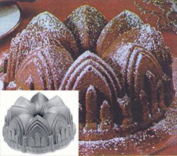 Cathedral Bundt Pan 9