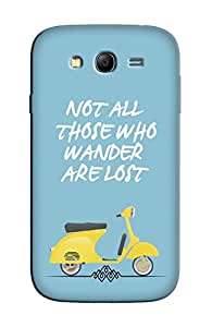 Blink Ideas Back Cover for Samsung Galaxy Grand Prime