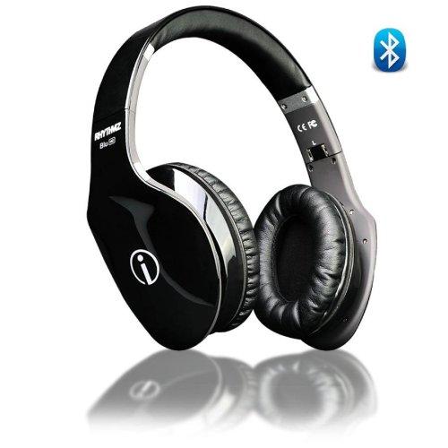 Wireless Hd Fashion Hi-Fi Bluetooth Headphones - Black - Touch Gesture Control