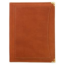Universal Tablet + Watchtower folio for Galaxy Note 10.1, iPad and iPad air and similar - Tan Rustic