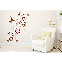 SYGA Flying Birds With Branch Wall Stickers Decals Design