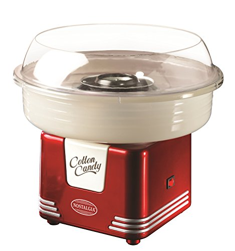 Nostalgia PCM405RETRORED Retro Series Hard & Sugar Free Candy Cotton Candy Maker (Sugar Candy Maker compare prices)