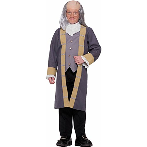 Ben Franklin Colonial Kids Costume