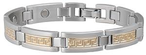 Buy Sabona Greek Key Duet Magnetic Bracelet by Sabona