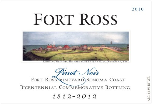 2010 Fort Ross Pinot Noir Bicentennial Bottling, Sonoma Coast 750 Ml