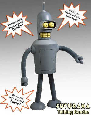 Futurama Action Figure Talking Bender