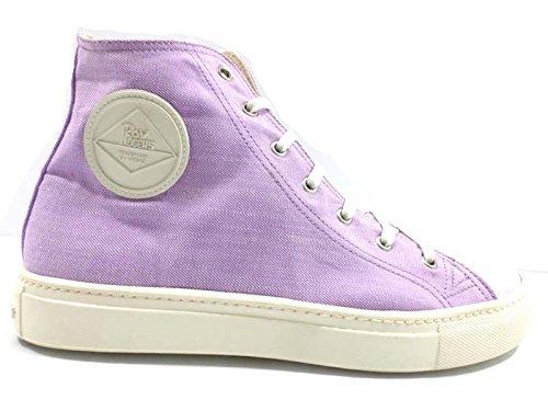 scarpe uomo ROY ROGERS sneakers lilla tessuto AH502 (43 EU)