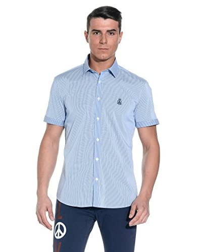 Love Moschino Camicia Uomo [Azzurro]