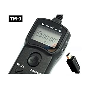 GSI Super Quality Multi-Function Timer Remote Control Shutter for Olympus SP-510 UZ, SP-550 UZ, SP-560 UZ, SP-565 UZ, SP-570 UZ, E400, E410,E420, E510, E520 Cameras, LCD Illuminated Screen, Exceeds the Olympus RM-UC1