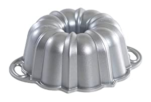 Nordic Ware Platinum Collection Original Bundt Pan, 6 Cup