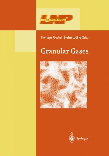 Granular Gases (Lecture Notes in Physics) PDF