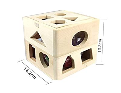 Kids Baby Educational Toys Wooden Building Block Toddler Toys for Boys Girls Learning Toy Tool Coordinating Kids Eye And Hand Movements -Clever Kids Necessities Do Not Miss It