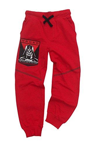 Ufficiale Star Wars Stivale In Pile Jogging Tuta Pantaloni Età da 4a 9anni Red 7 Anni