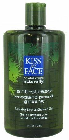 Kiss My Face: Bath & Shower Gel, Anti-Stress 16 Oz