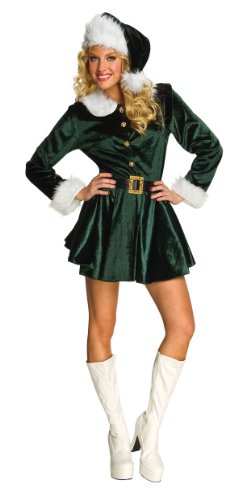 Rubie's Costume Women's Santa's Helper Dress