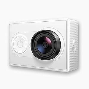 Cámara Aacuatica ,Yi Videocámara Deportiva(16 Mp, 1080P, Wi-Fi, Bluetooth, Lente 155º)para Android e iOS, Blanco