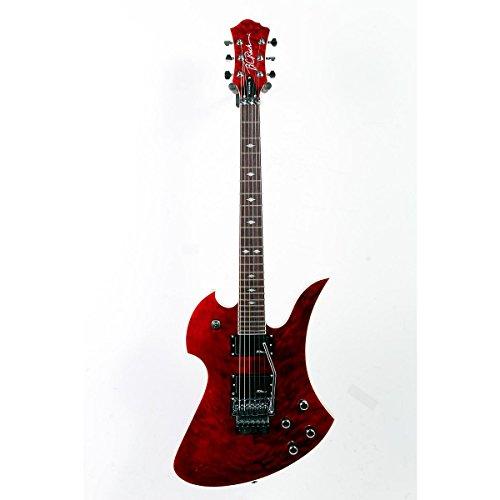 B.C. Rich Pro X Custom Mockingbird Electric Guitar Trans Red 888365236315