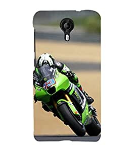ifasho Designer Phone Back Case Cover Micromax CanvasNitro3E455 ( Wolf Man Full Moon )