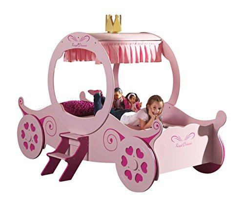 Vipack SCPC201 Princess Kate Car Lit Enfant MDF Rose 240 x 168 x 168 cm