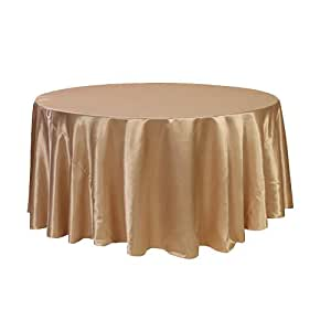 Your chair covers 120 inch round satin for 120 round table seats how many