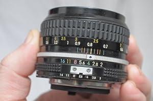 Nikon Nikkor 50mm F2 Ai Lens