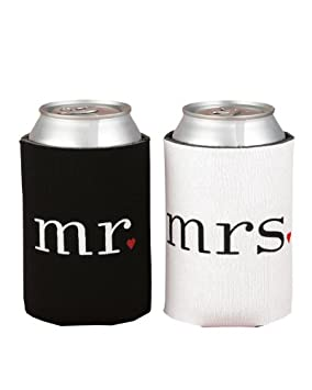 Mr Mrs Can Coolers Gift
